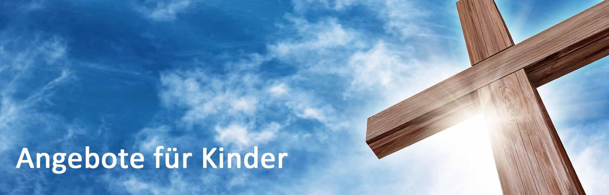Gottesdienstangebote für Kinder